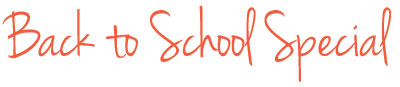 Back to School Special for Education Professionals
